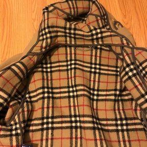 Authentic Burberry coat size large.